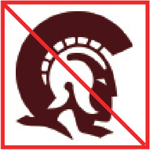 Incorrect Social Media Icon showing the Trojan logo.