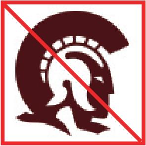 Incorrect Social Media Icon showing the Trojan logo.