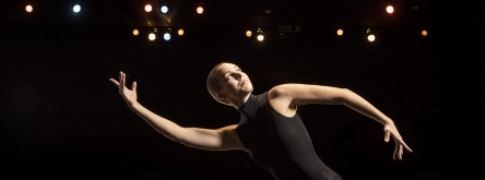 Dancer Heidee Alsford for ad photographed on September 9, 2015.
