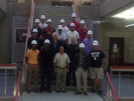 hardhat ceremony