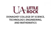 Logo for the Donaghey college of Science, Technology, Engineering and Mathematics at UA Little Rock