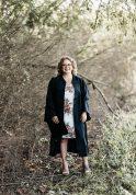 A graduation photo of Rachel Runnels-Caldwell.