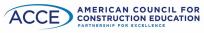 American Council for Construction Education logo