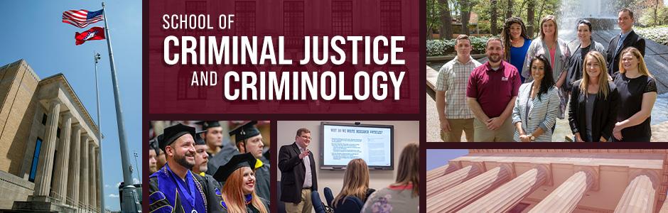 Criminal Justice program at UA Little Rock