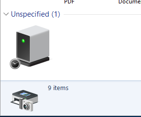 Unspecified Device
