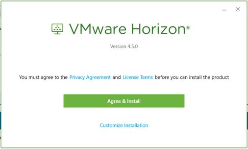 Accept VMWare Prompt