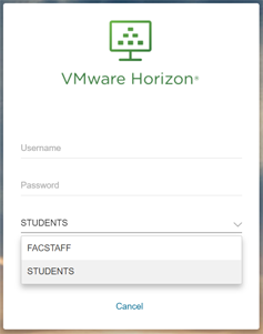 Log Into VMWare HTML Access