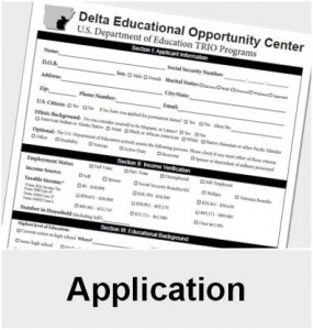Application to get assistance from Delta EOC