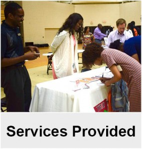 Services Provided by TRIO EOC