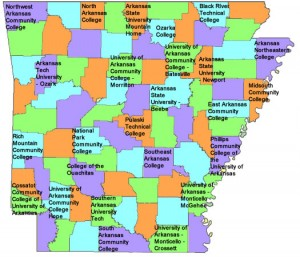 map of colleges in arkansas Arkansas Career Pathways Delta Educational Opportunity Center map of colleges in arkansas