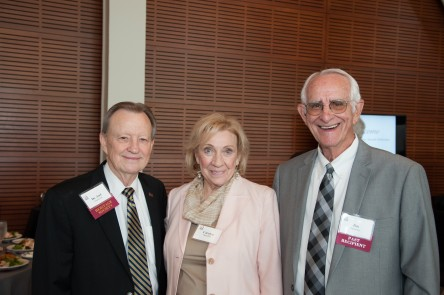 Dr. Joel Anderson, Carolyn and Jim Spradley