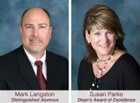 Mark Langston and Susan Parke