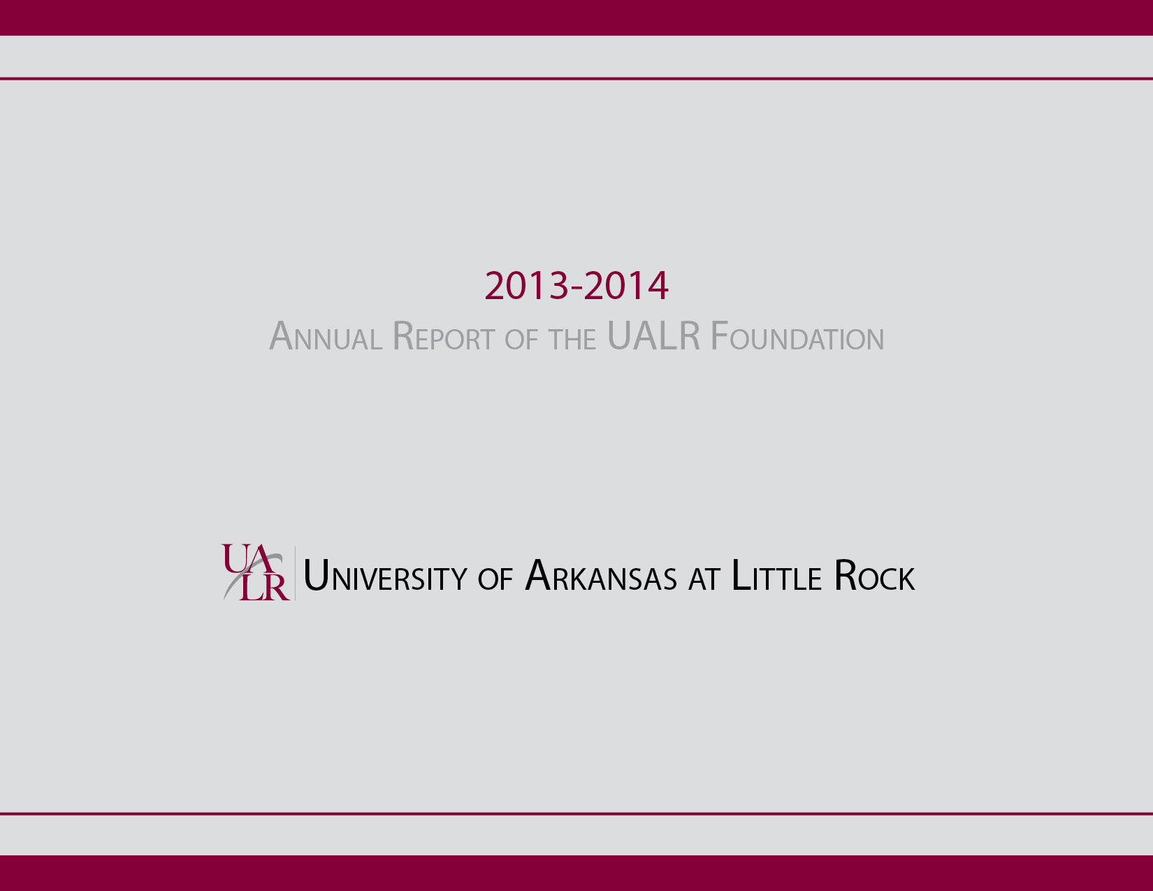 2013-2014 Endowment Report