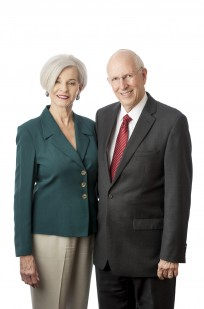 Jerry and Sherri Damerow, the 2017 Fribourgh honorees photographed on June 9, 2017.