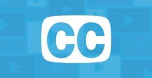 CC (closed captioning symbol)