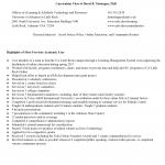 Curriculum Vitae of David R. Montague, PhD