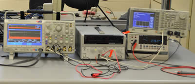 Measurement equipment in the solar lab