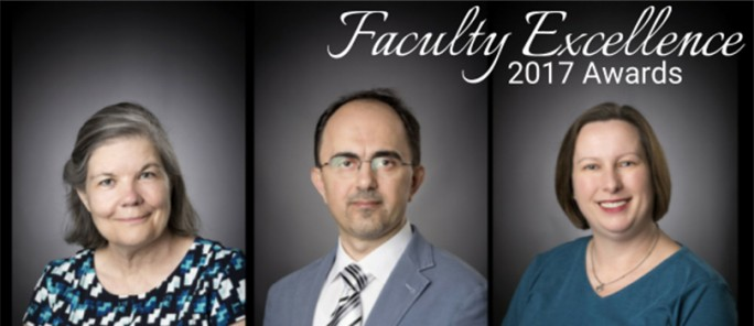 Faculty Excellence Winners 2017