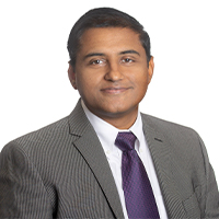 Dr. Nitin Agarwal headshot