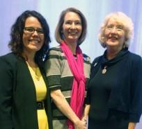 Dr. Jill Adelson, Kristy Kidd, and Dr. Ann Robinson