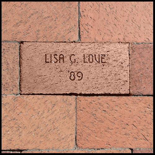 Support your local Chi Omega chapter buy purchasing an alumni brick.