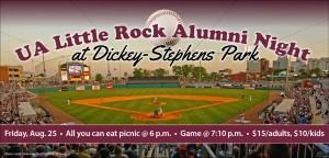 Alumni Night at Dickey-Stephens Park