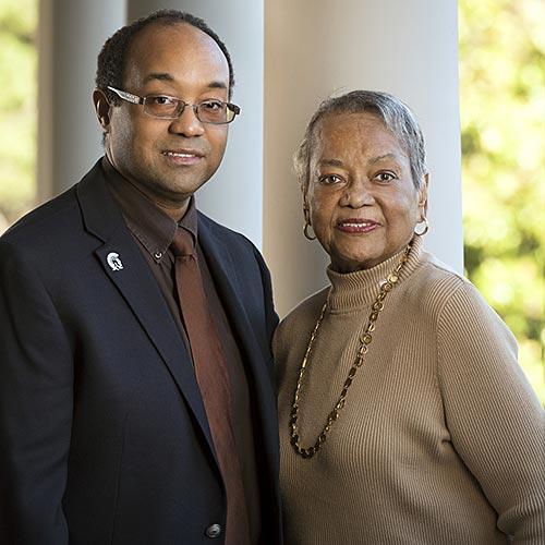Dr. Raye Jean Jordan Montague, and David Montague