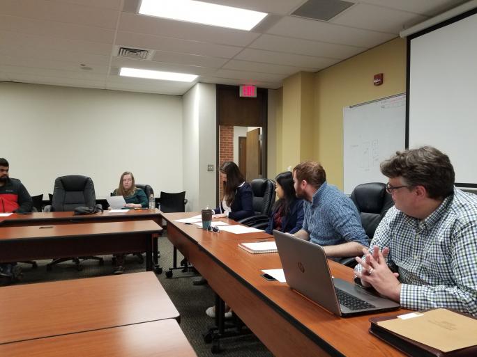 Photo of GSA Meeting