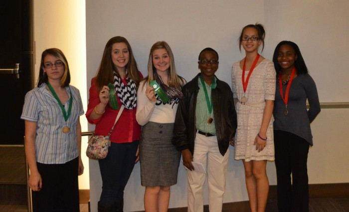 Sylvan Hills students, UALR History Day