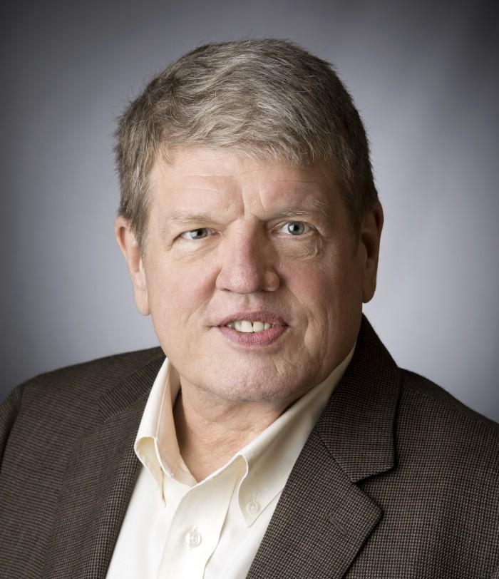 History professor Vincent Vinikas photographed on August 8, 2016