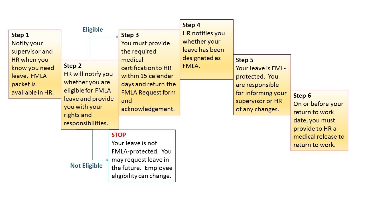 Family and medical leave act fmla department of human resources fmla at a glance falaconquin