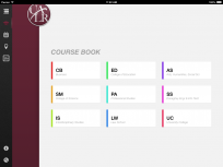 UALR Mobile course catalog