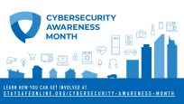 logo for Cybersecurity Awareness Month