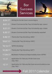 Fall 2017 Event Calendar