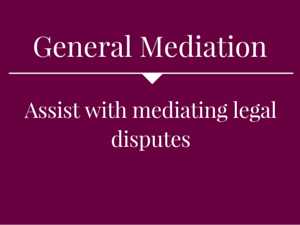 General Pro-Bono Mediation