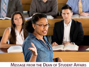 Message from Dean Grotjohn