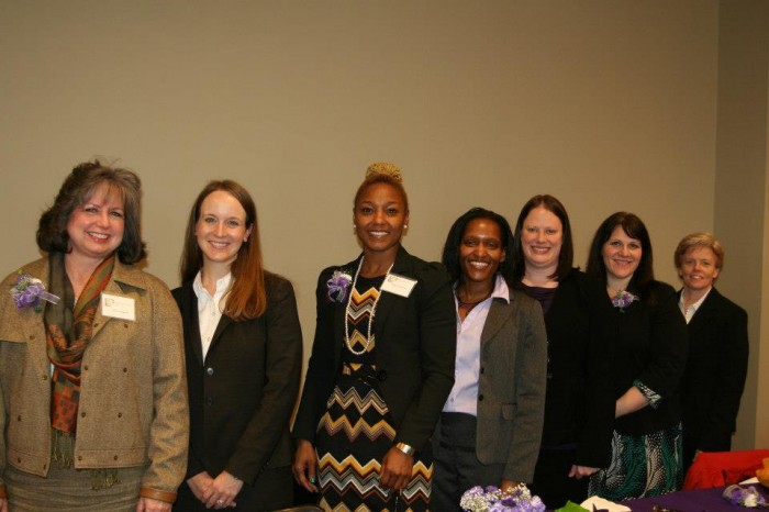 AAWL members gather for the organization's annual luncheon.