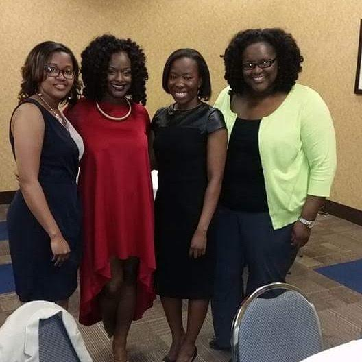Members at the BLSA annual scholarship banquet
