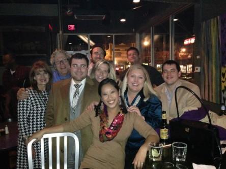Dean Wanda Hoover and Bowen's Nashville, TN, area alumni