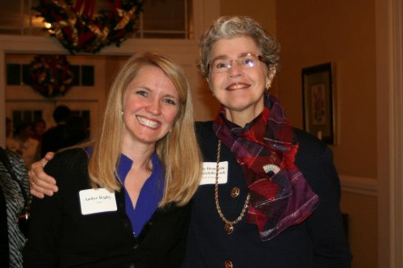 Amber Bagley, '04, and The Honorable Annabelle Imber Tuck, '77