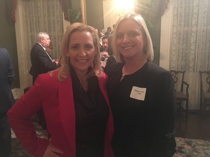 Attorney General Leslie Rutledge, '01, and Melanie Martin, '92