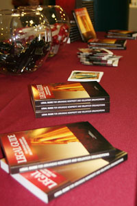 Table of books for the Legal Guide's release.