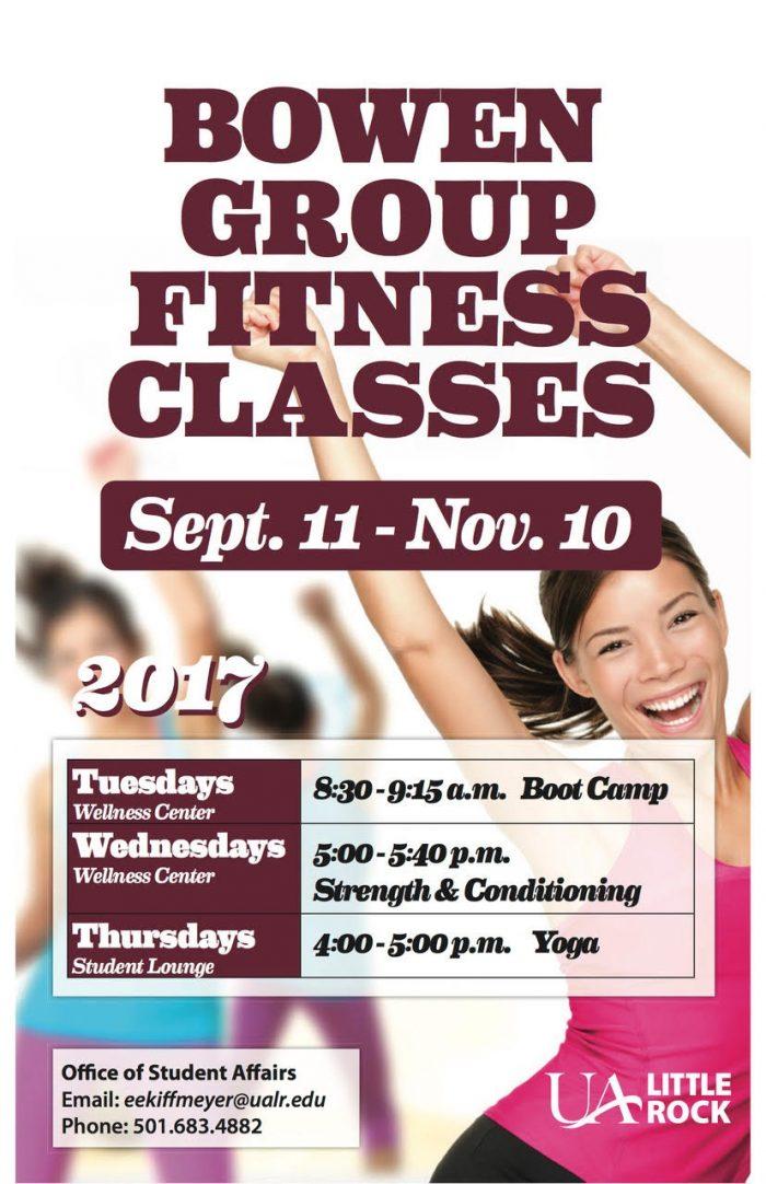 Bowen Group Fitness Schedule
