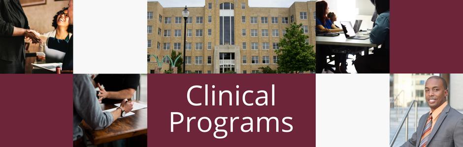 Clinical Programs