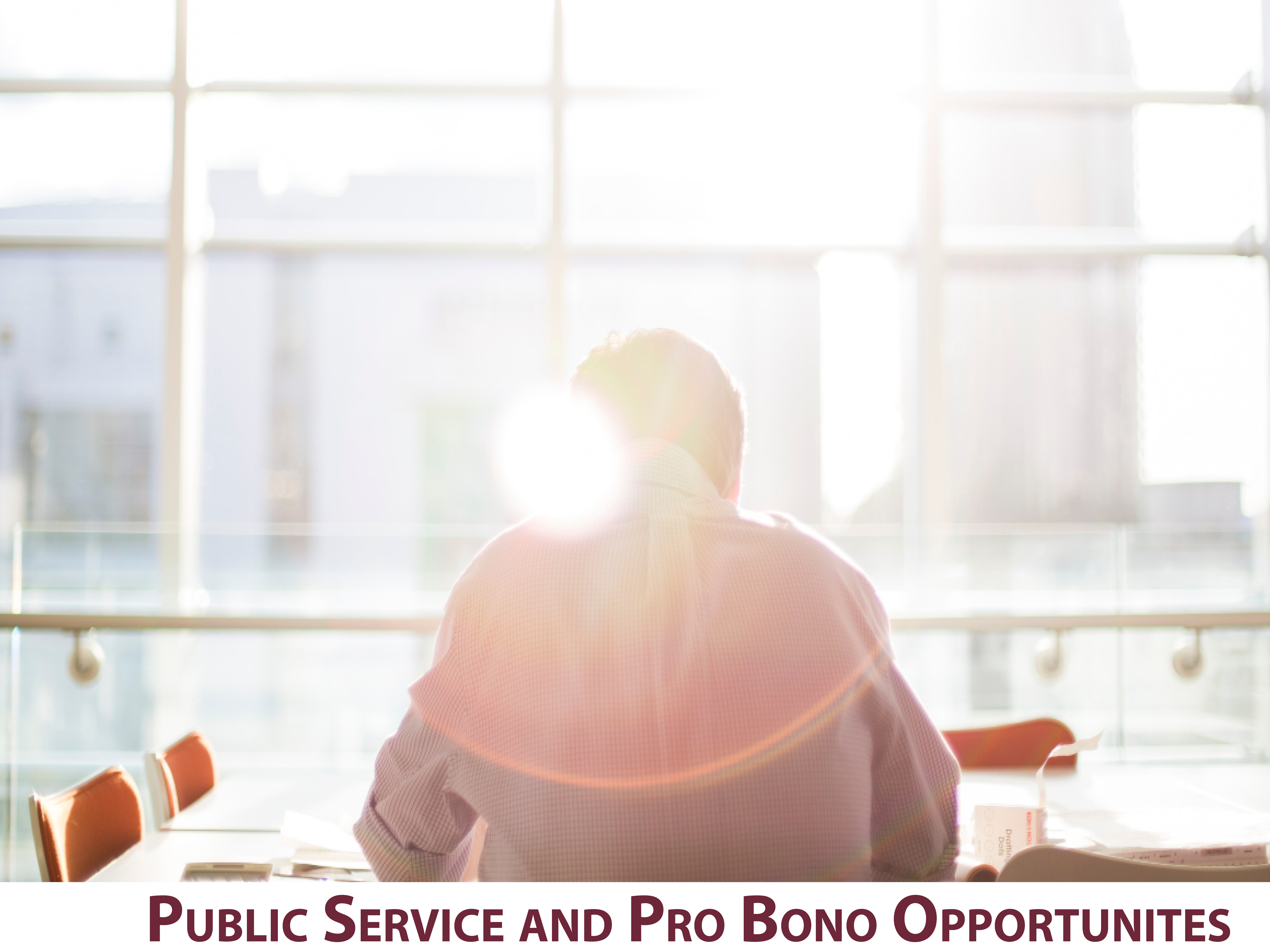 Public Service and Pro Bono Opportunities