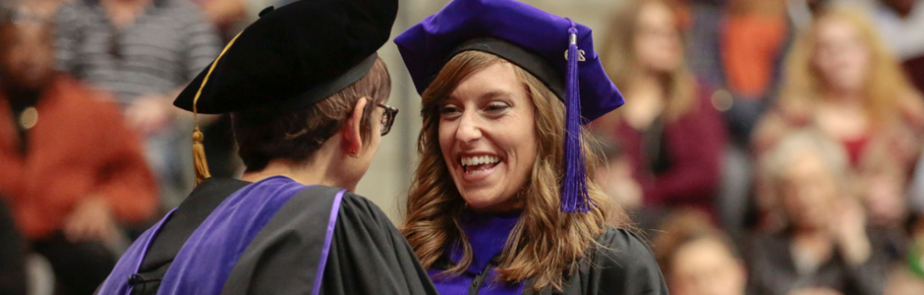 Law student Kimberly Gould at graduation
