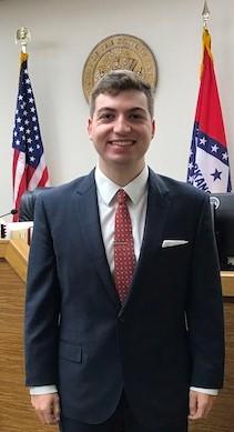 Law student Nathan Johnson