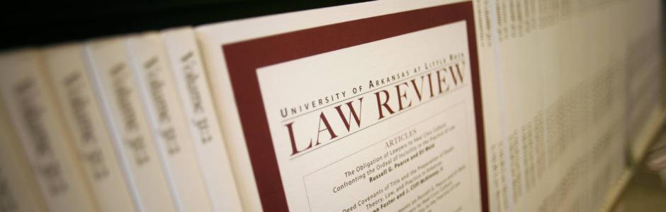 UA Little Rock Law Review