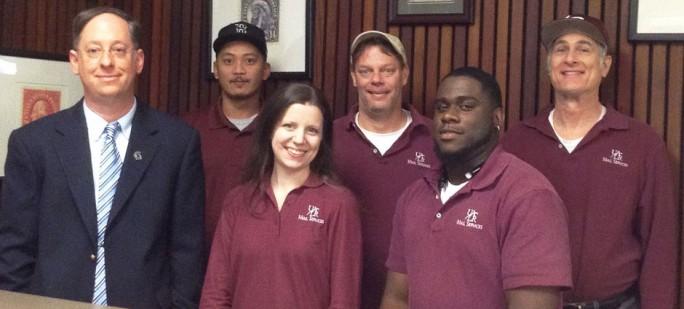 UALR Mail Services Staff