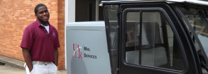 UALR Mail Services Curtis Martin